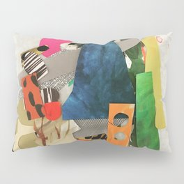 Sunset Mountain Paper Pile Pillow Sham