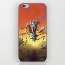 A Shocker on Shock Street iPhone Skin