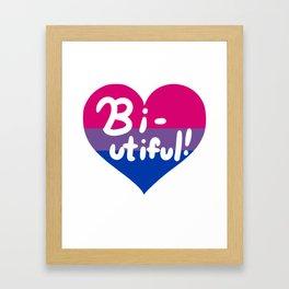 Bi-utiful! Framed Art Print