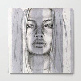 Gigi Metal Print