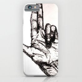 Shoot me iPhone Case