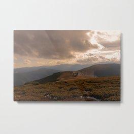 Făgăraș Mountains Metal Print