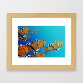 Clown Fish Framed Art Print
