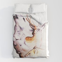 The Marauders - We Are Wild Duvet Cover