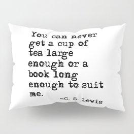 Tea and books Pillow Sham