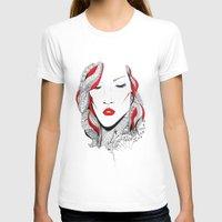 rihanna T-shirts featuring Rihanna  by Ina Spasova puzzle