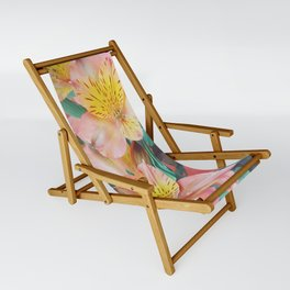 Spring Bouquet Sling Chair