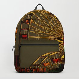 Pacific Park at sunset Backpack