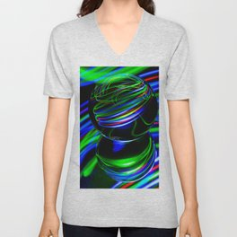 The Light Painter 26 Unisex V-Neck