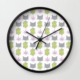 PMW Pattern Wall Clock