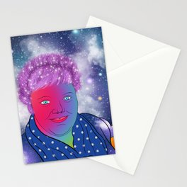 Good Hair Day Self Portrait Stationery Cards