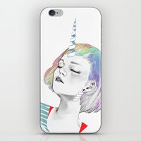 pony iPhone & iPod Skins featuring PONY by OrangeBeard