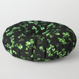 Shamrocks Floor Pillow