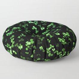 Shamrocks Floor Pillow