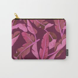 Tropical '17 - Ajaja [Banana Leaves] Carry-All Pouch