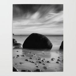 Hidden Bowling Ball Beach Northern California Poster