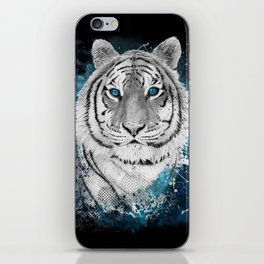 Tiger, don't stop...BE strong iPhone Skin
