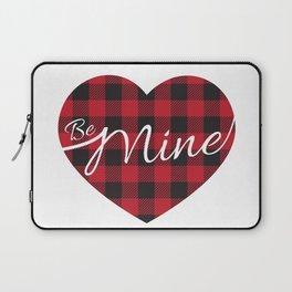 Buffalo plaid heart be mine  Laptop Sleeve
