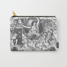 Legend of Zelda - The Three Goddesses of Hyrule Geek Line Artly Carry-All Pouch