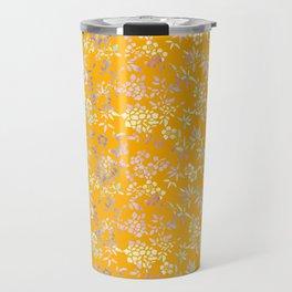bamboo and plum blossom Travel Mug