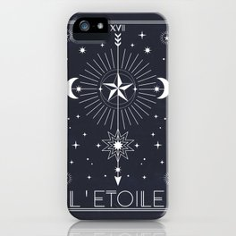 L'Etoile or The Star Tarot iPhone Case