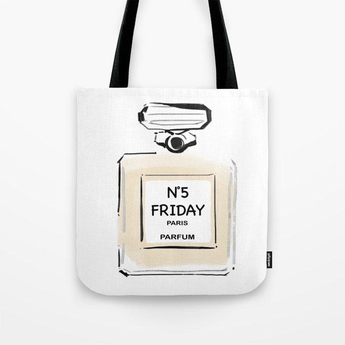 N5 FRIDAY PARIS PARFUM Tote Bag