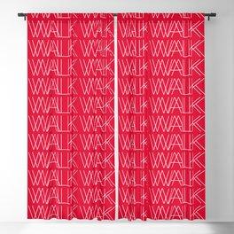 WALK (ONE) Blackout Curtain