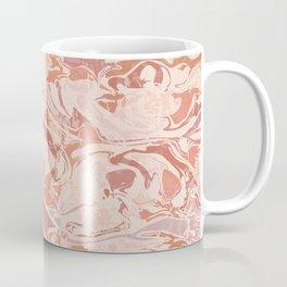 Earth-Tone Marble Texture / 70's Mood Coffee Mug