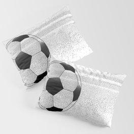Moving Football Pillow Sham