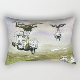 Self Determinism Rectangular Pillow