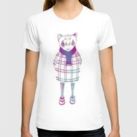 ferret T-shirts featuring ferret in sweater by margaw