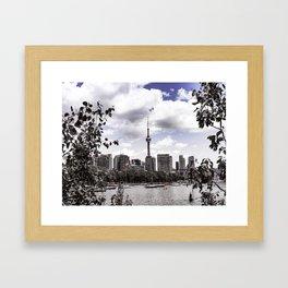 CN View Framed Art Print