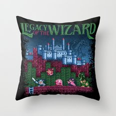 Wizard of the Legacy Throw Pillow