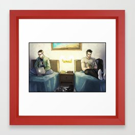 Sterek:  Mamihlapinatapai Framed Art Print