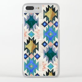 Kilim Kind 6a Clear iPhone Case