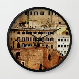 Overlapped Cities Wall Clock