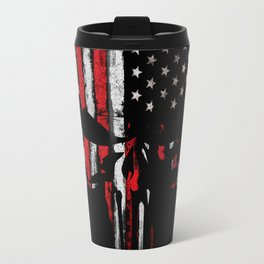Punisher American flag Travel Mug