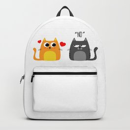 Disappointing relationship Backpack
