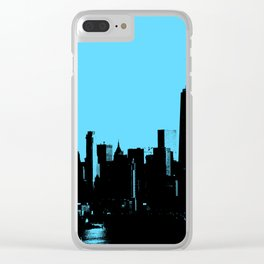 NYC Skyline Clear iPhone Case