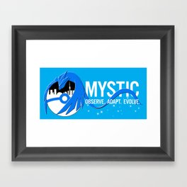 Team Mystic Toronto [1] [white text] Framed Art Print
