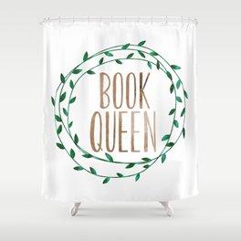 Book Queen Shower Curtain