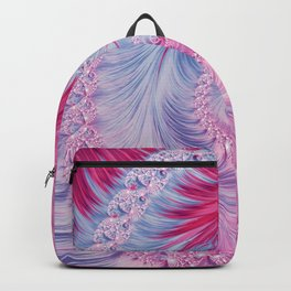 Crystal Spiral Abstract Backpack