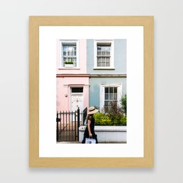 London - Notting Hill Framed Art Print