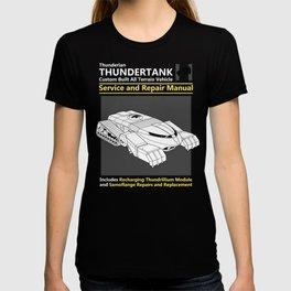 Thundertank Service and Repair Manual T-shirt