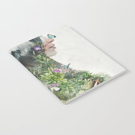 Cat in the Garden of Your Mind Notebook
