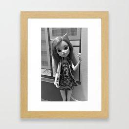 Sweet Caroline Framed Art Print