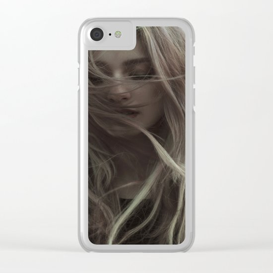 Sad wind Clear iPhone Case