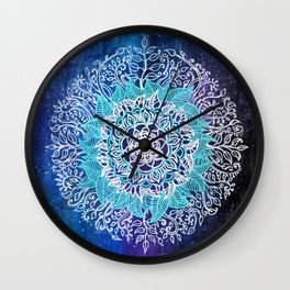 Nature Mandala (Final) Wall Clock