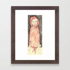 sketchbookfigure Framed Art Print