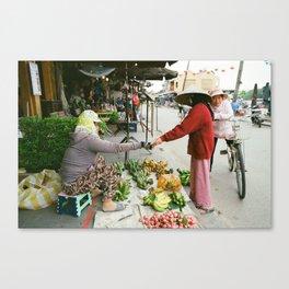 Hoi An Market II Canvas Print